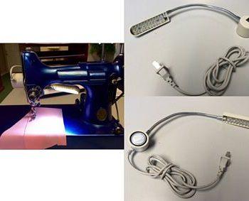 Magnetic LED Bendable Lamp 110V