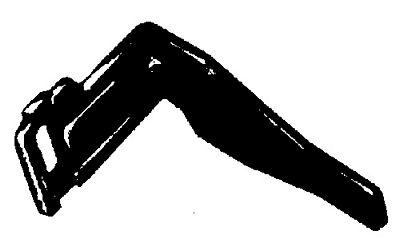 MOTOR BRACKET LN Singer Type Black