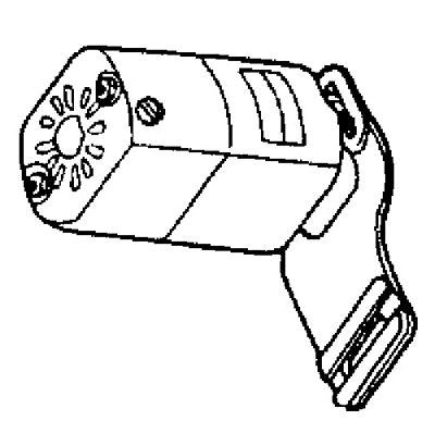 MOTOR 9000 rpm K-Bracket 1/15hp 1.5 Amp