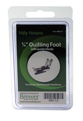 NN FOOT 1/4 Quilting Slant Singer w/Spring Blade