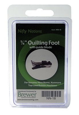 NN FOOT 1/4 Quilting Janome New Home  with blade
