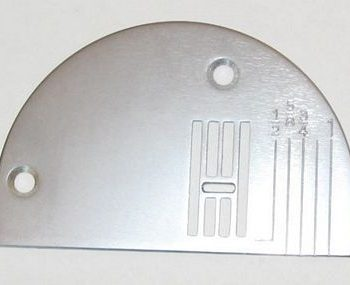 Needle plate ZZ White 656