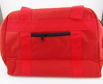 Portable Bag Canvas for Free Arm Red Color
