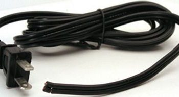 CORD SPT-2 Wire with Two Prong Male Plug