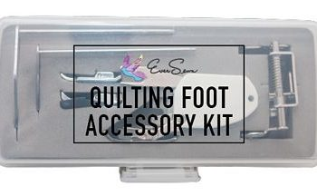 6-pc Accessory Quilting Foot Kit Low Shank