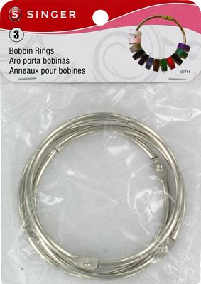 Bobbin Rings Singer 3-Pack Carded