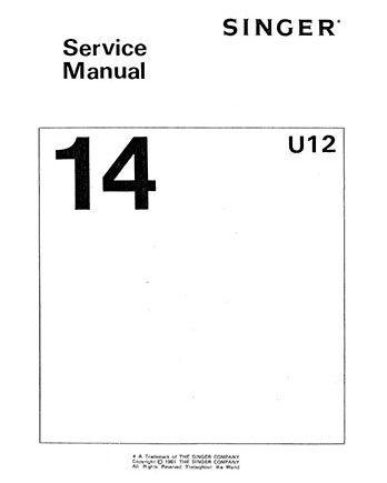Service Manual Sgr 14U12/52