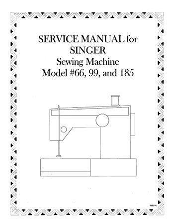 Service Manual Singer 66