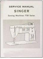 Service Manual Singer 750