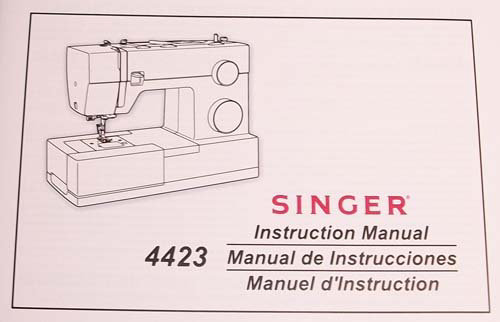 Instruction Book Singer 4423