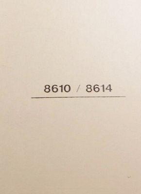 Instruction Book Singer 8610