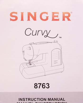 Instruction Book Singer 8763 Curvy