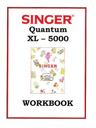 Instruction Book Singer XL5000