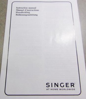 INSTRUCTION BOOK Singer 14T948DS