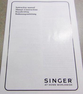 INSTRUCTION BOOK Singer 14T948DS