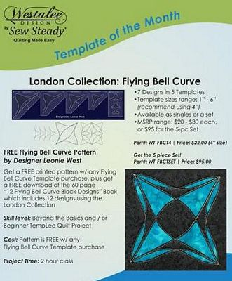 Flying Bell Curve Triangle Set - Long Arm