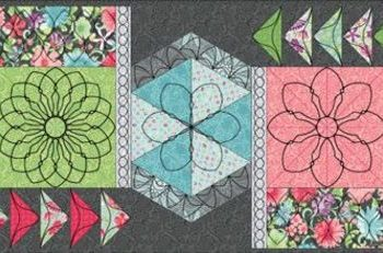 Meadow Dance Beautiful Borders 4pc Set-Long Arm