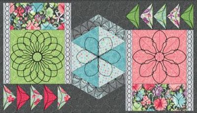 Meadow Dance Beautiful Borders 4pc Set-Low Shank