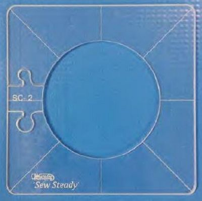"""Simple Circles 1.5"""" Template - Low Shank"""