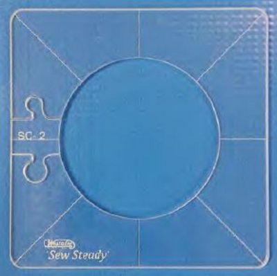 "Simple Circle 4-Piece Set (2.5""-4"") - Low Shank"