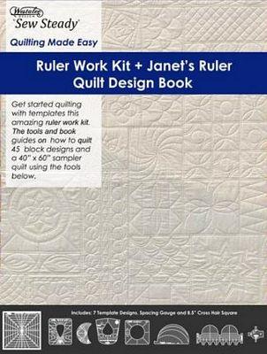 Rulerwork Kit Template No Foot - Long Arm