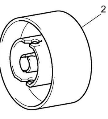 Handwheel Brother XL2600 XL2610 XL3500 XL3510