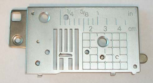 Needle Plate A Assembly Brother HE240 NS40