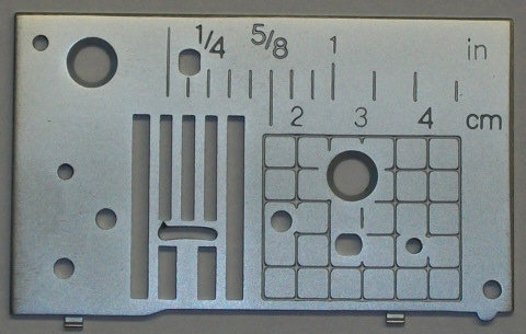 Needle Plate Bro NS40 SE350 A (Needle Plate Only)