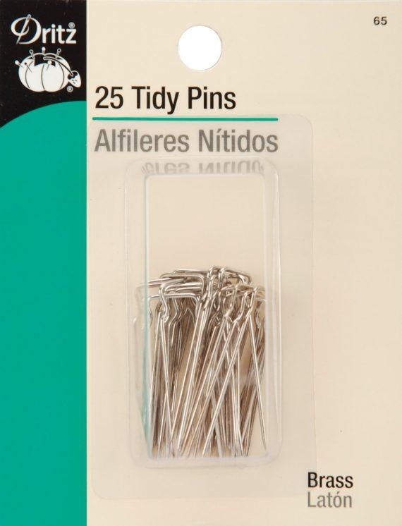 D65 Dritz - 25 ct Tidy Pins